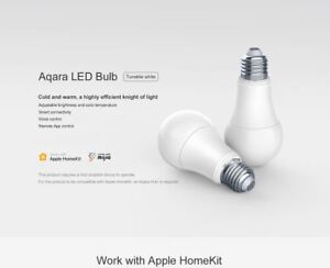Details Work E27 Remote Smart Bulb Aqara Znldp12lm Led 9w Xiaomi About Control Wifi App Light 4R35qjAL