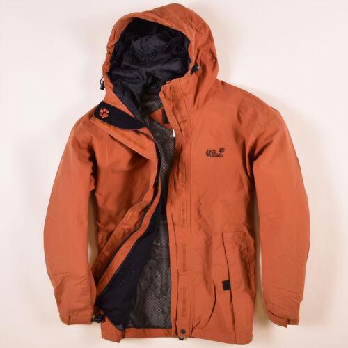 Giacca Arancione Jack Jacket 60720 36 Pioggia Wolfskin Texapore Donna Tg xCwRO