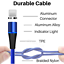 miniature 3 - 3Pack 3/6Ft Magnetic Charger Cable USB Fast Charging Cord For Apple iPhone 11 XR