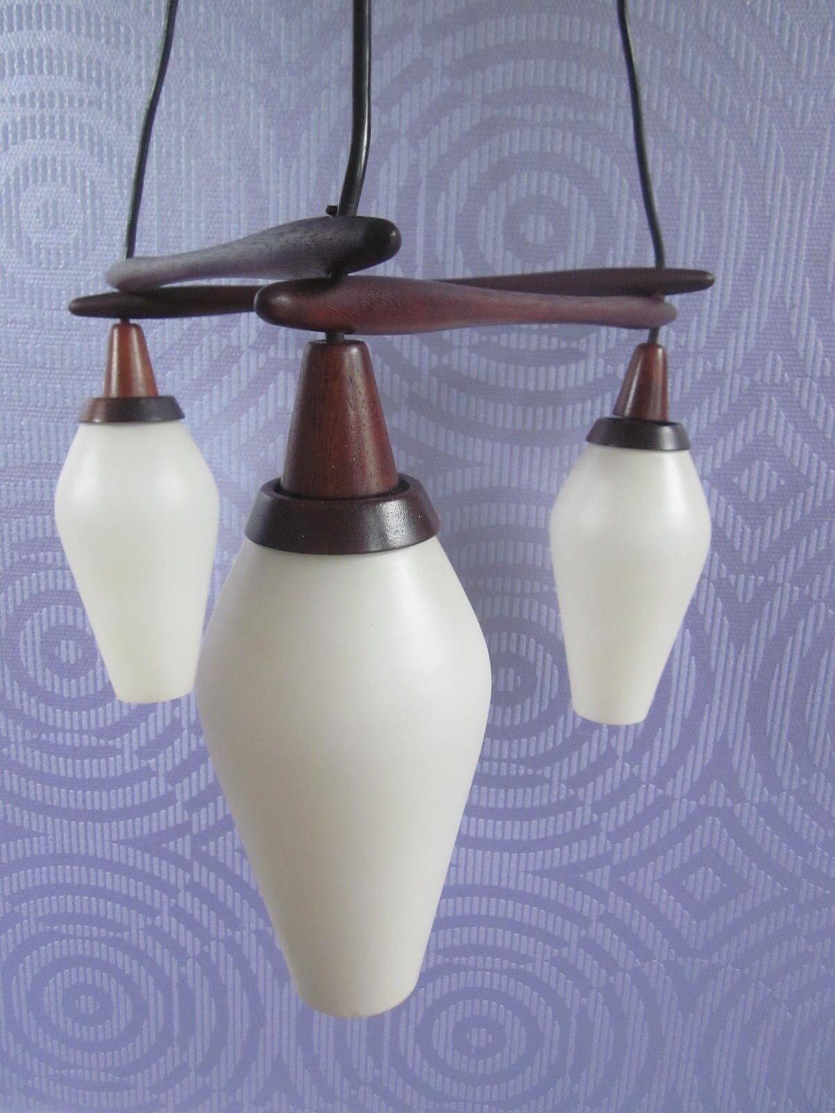 Teck Lampe suspension Lampe 50 s s 60 s s mid-century DANEMARK Danish Modern Era Vittsjö 912010
