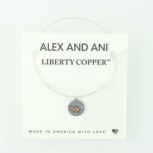 NEUF ALEX and Ani Liberty Cuivre Bracelet breloque en argent sterling Bracelet Tag /& carte