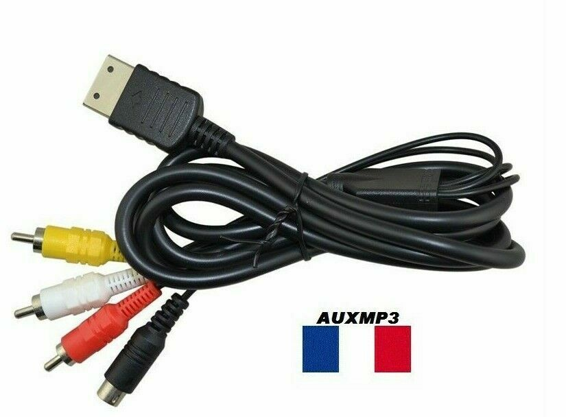Cable S Video For Sega Dreamcast 1M80 Sending of France