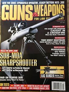 Guns-And-Weapons-For-Law-Enforcement-July-2001-New-Springfield-Sub-MOA-308