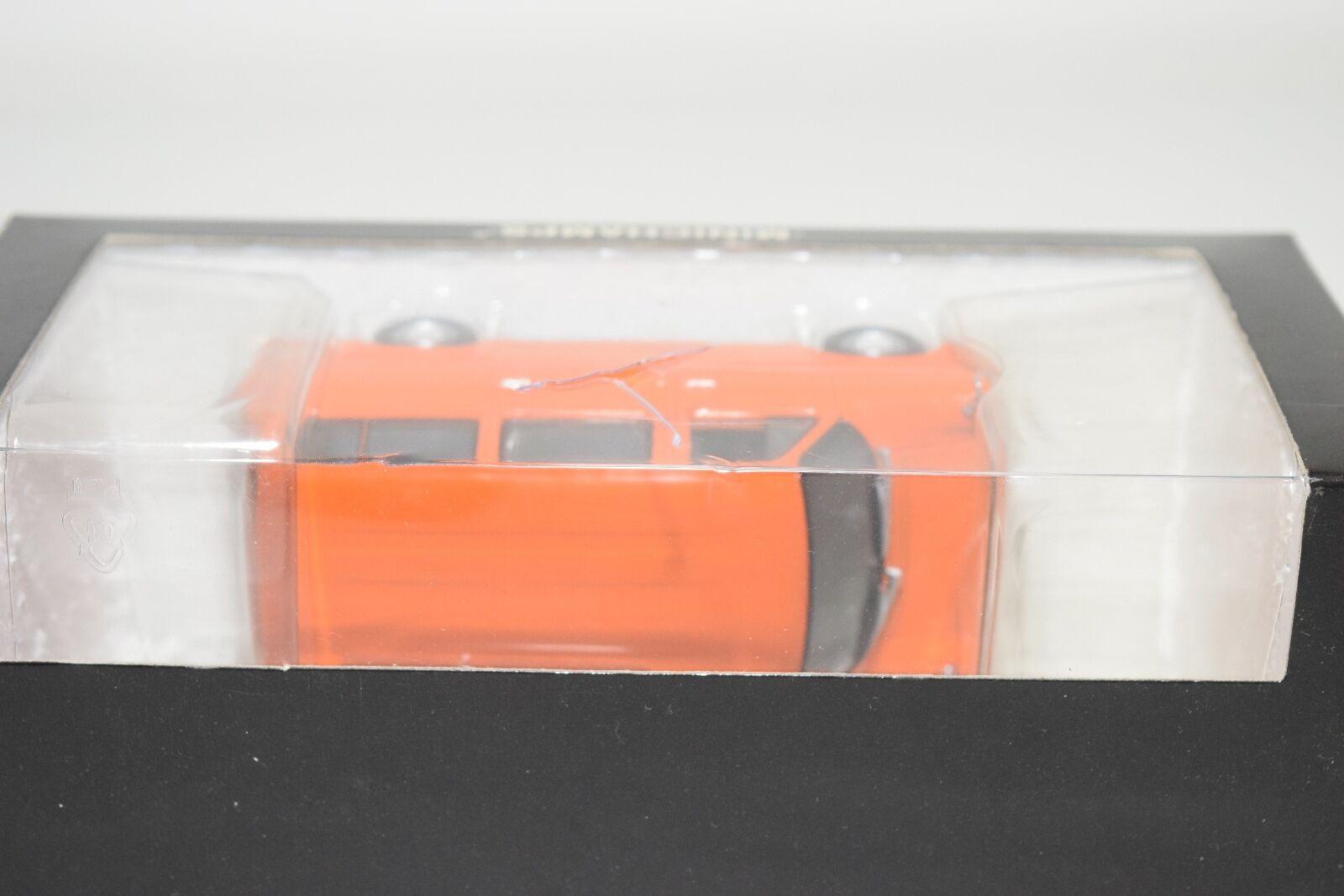 . MINICHAMPS FORD TRANSIT BUS VAN 1971 orange MINT BOXED BOXED BOXED 2a3fcb