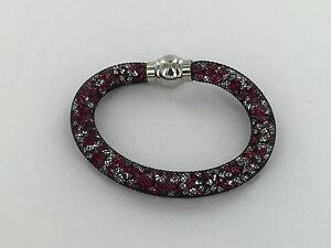 NUOVA incredibile STAR DUST CRISTALLO CHIUSURA MAGNETICA mesh Bracciale da donna regalo braccialetto  </span>