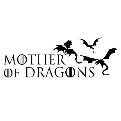 Vinyl Decal Truck Car Sticker Laptop Game Of Thrones Daenerys Dracarys