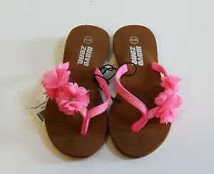 Wave Zone Girl Pink Sandals Size 12 13