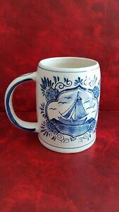 Boccale Da Birra IN Ceramica Di Blu Delft