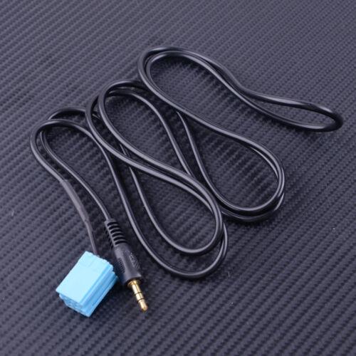 Coche 8-Pin Aux Line In Adaptador De Radio Cable se adapta a VW//Audi Skoda//Asiento VDO Dayton