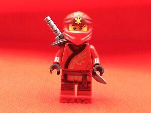 LEGO Ninjago Kai Minifigure SECRETS OF THE FORBIDDEN SPINJITZU 70672 70675 70677