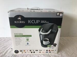 Keurig k45 elite brewing system black for K45 elite