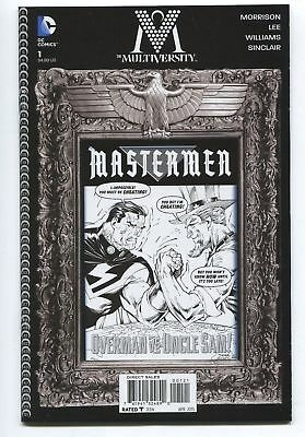 The Multiversity Other Modern Age Comics Collectibles Mastermen #1 Grant Morrison B & W Sketch Variant 1-10 Eb01 In Short Supply