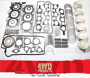 Engine-Reconditioning-kit-Suzuki-Grand-Vitara-SQ625-5Dr-2-5-V6-H25A-98-05