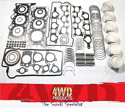 Engine Reconditioning kit - Suzuki Grand Vitara SQ625 5Dr 2.5 V6 H25A (98-05)