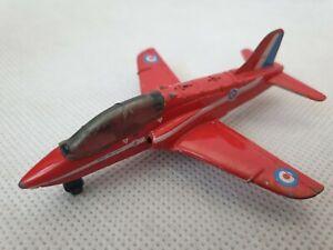 1991-VINTAGE-MATCHBOX-SKYBUSTERS-BAE-HAWK-T-MK1-RAF-RED-ARROWS-JET-PLANE