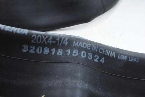 Bicycle Tire Tube 20x4-1//4 20 x 4-1//4