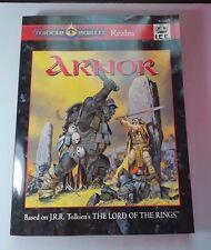 PEOPLES ARNOR w/MAPS! MERP Middle-Earth J.R.R. Tolkien Module Adventure NM/NM-