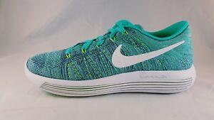 New Womens Nike Lunarepic Low Flyknit Running Shoes 843765-301 Sz 7.5