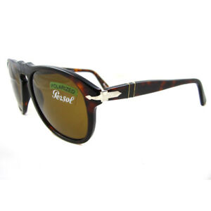 7a260ee573 Persol Sunglasses 0649 24 57 Havana Brown Polarized Steve McQueen ...