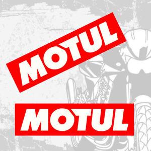 Details Zu 2 Aufkleber Auto Motorrad Sticker Rennsport Fahrrad Motul öl Sponsoren Z 43