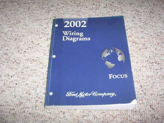2002 Ford Focus Electrical Wiring Diagram Manual Se Ztw