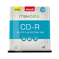 Maxell Cd-r Discs 700mb/80min 48x Spindle Silver 100/pack 648200 on sale