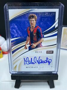 2020 Panini Immaculate Soccer MICHAEL LAUDRUP Ink Autograph 88/99 Barcelona AUTO