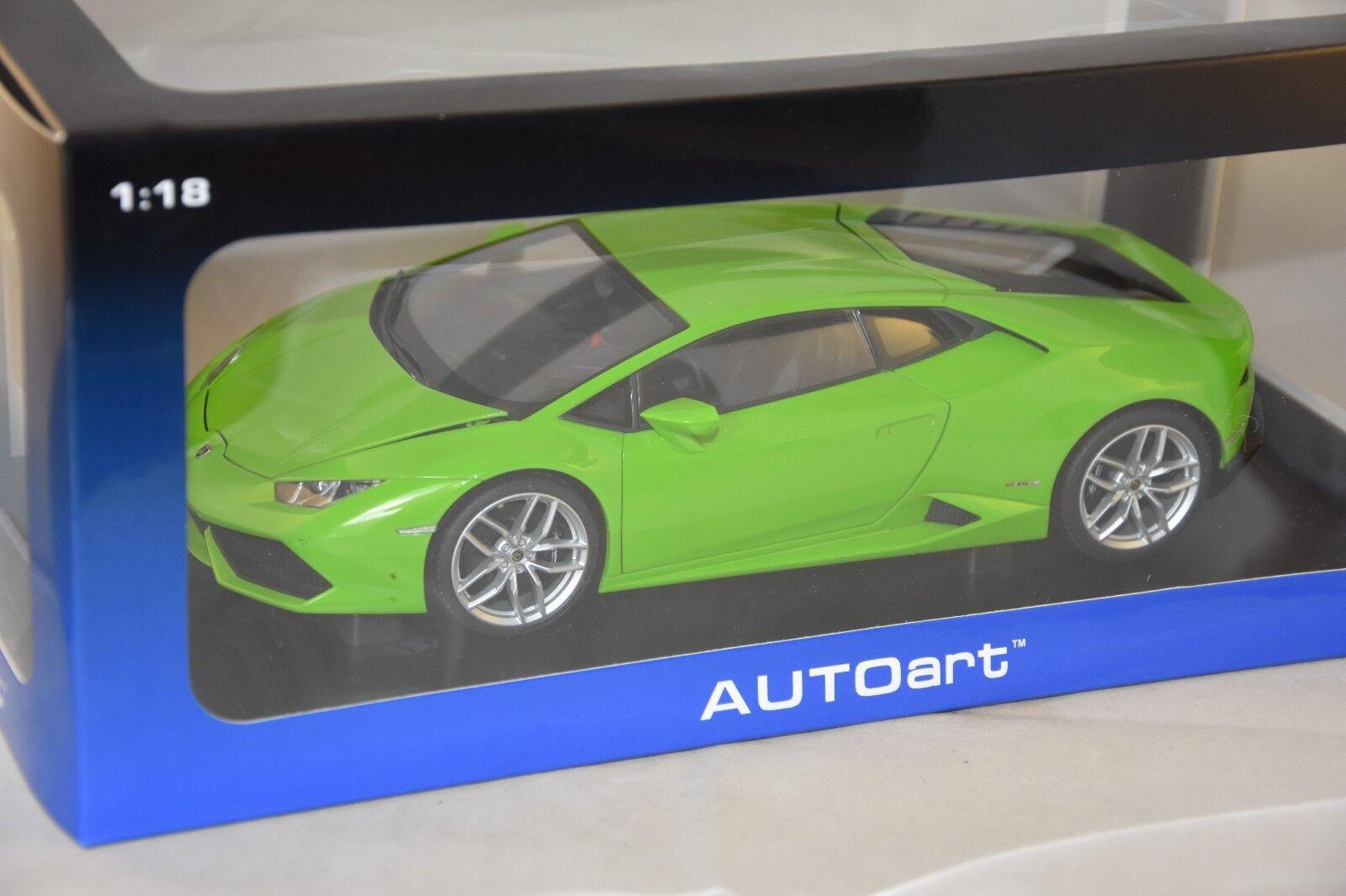 AUTOART 74605 - Lamborghini Huracan LP610-4 - 2014 Vert 1 18