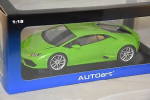Autoart 74605 - Lamborghini Huracan Lp610-4 2014 Vert 1/18