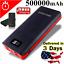 USA-500000mah-Portable-Power-Bank-LCD-LED-4-USB-Battery-Charger-For-Mobile-Phone thumbnail 1