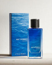 A&F Summer Cologne By Abercrombie & Fitch Men 1.7oz/50ml Spray New in Sealed Box