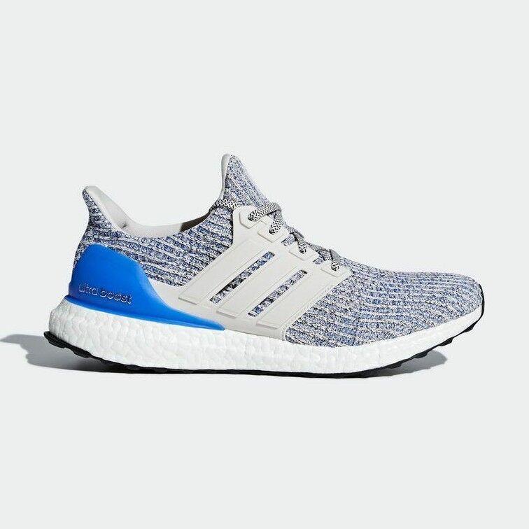 Adidas ultra impulso 4,0 gesso / / perla / gesso bianco / blu / royal ds autentico Uomo confezioni 817acd