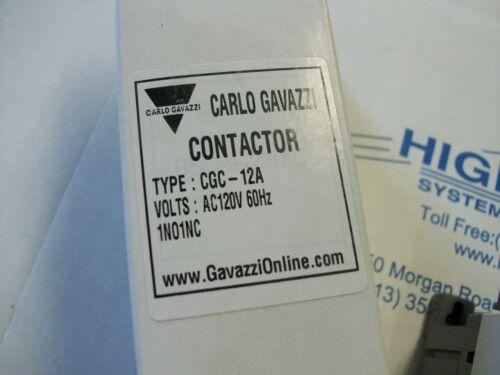 CGC-12A Carlo Gavazzi Contactor AC120V 60Hz 1NO1NC