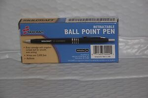 Image is loading Vintage-Skilcraft-U-S-Government-Ballpoint-Pen -Post-Vietnam-