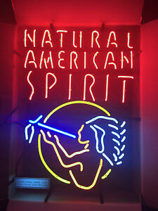 Details about NEW Natural American Spirit Cigarette Cigar Tobacco Neon  Light Advertising Sign