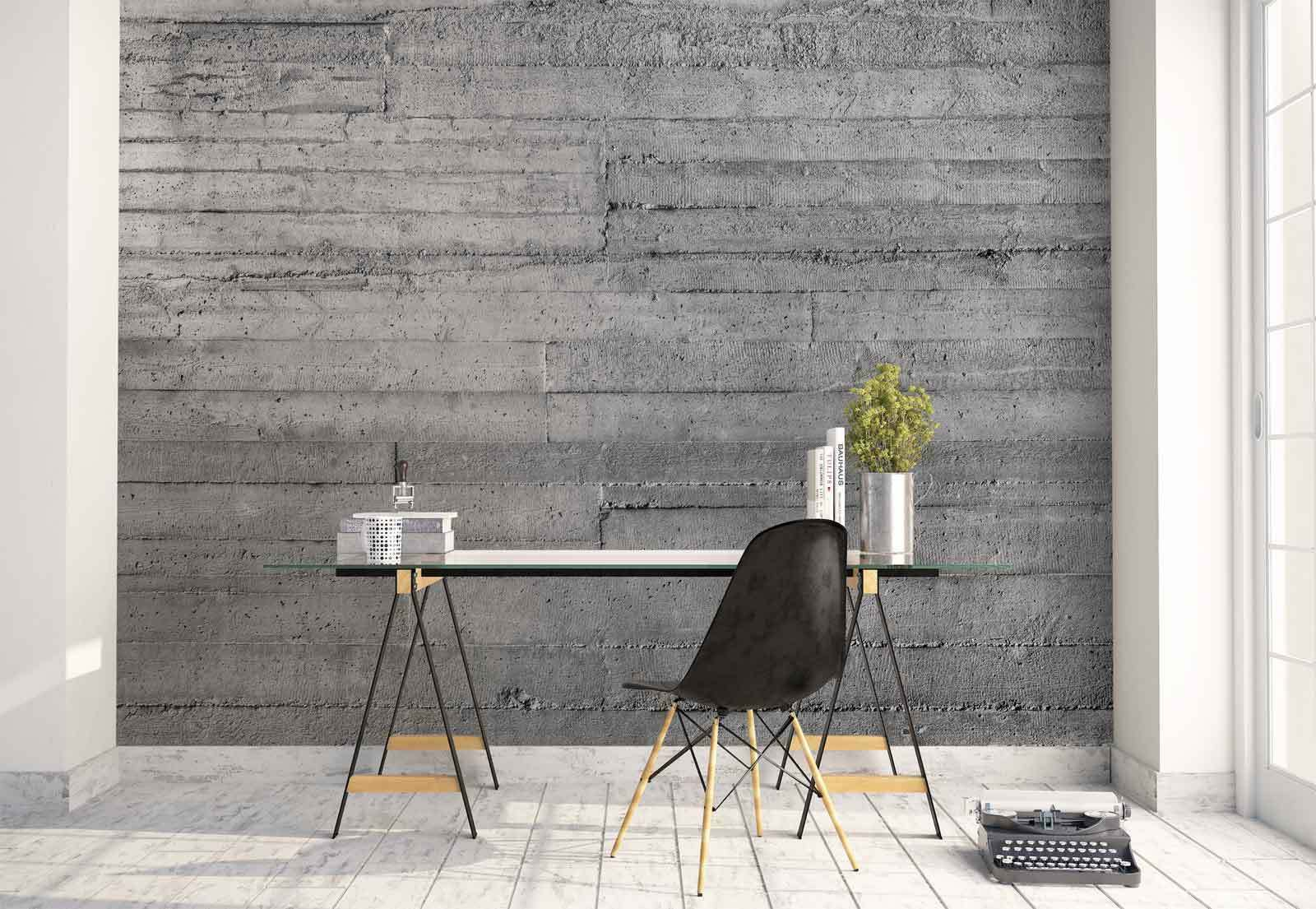 Concrete wall Texture Grunge  Photo Wallpaper Wall Mural (FW-1157)