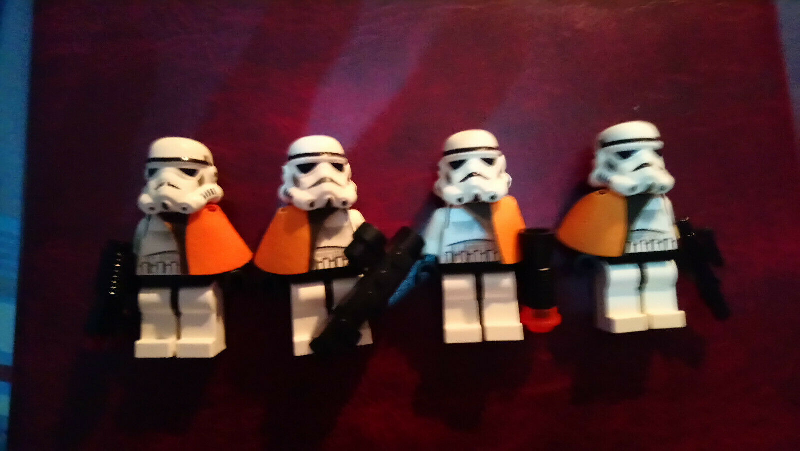 LEGO STARWARS ORIGINAL MINIFIGS -  IMPERIAL SANDTROOPER WITH PAULDRON  SW0109A