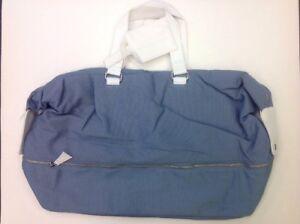 6d79ff86a8a2 LIGHT BLUE Dolce   Gabbana D G Male Blue Travel Weekender Duffle Gym ...