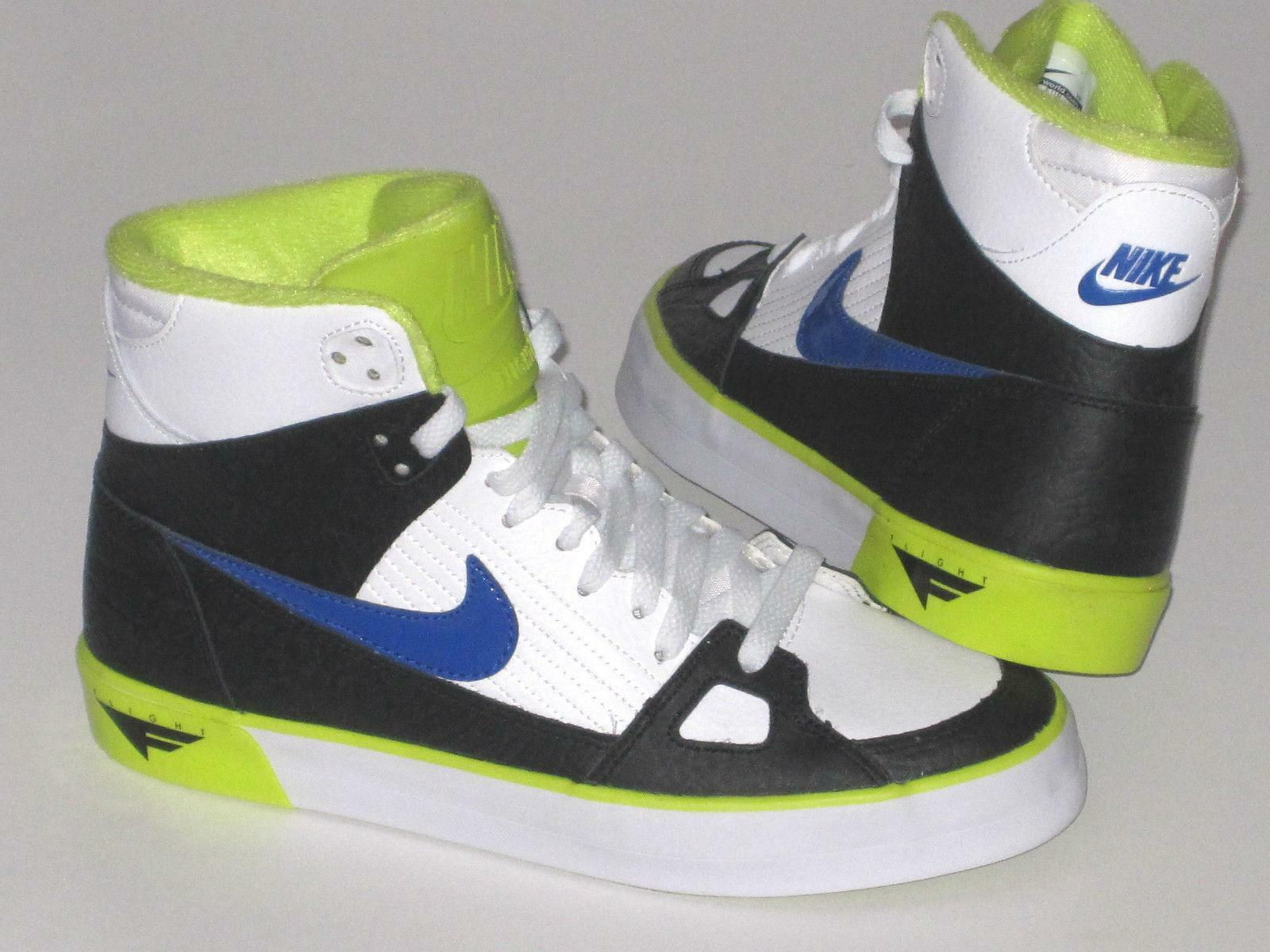 Mens Trainers NIKE FLIGHT AC Leather Trainers Mens 577128 140 4cb8ac