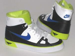 the best attitude e43b6 32dc0 Image is loading Mens-NIKE-FLIGHT-AC-Leather-Trainers-577128-140