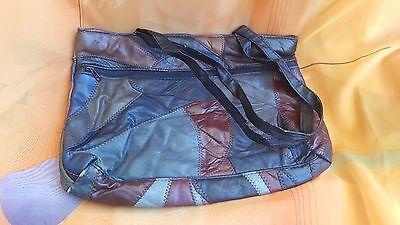 Handtasche aus Leder in Braun