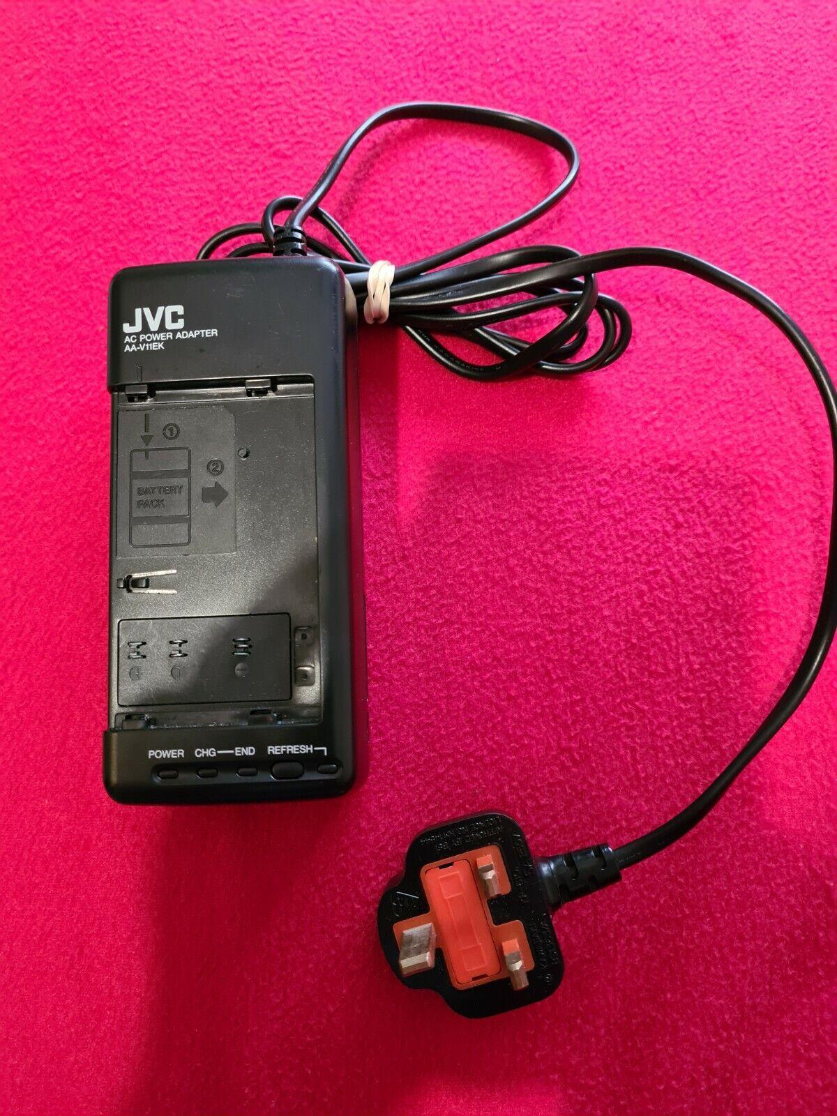 JVC AA-V11EK Camcorder Battery Charger AC Power Adaptor 8.5V