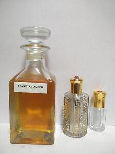 Egyptian Amber Concentrated Perfume Oil Attar by al haramain 3ml, 6ml,12ml, 36ml