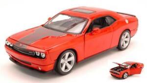 Dodge-Challenger-Srt8-2008-Orange-1-24-Maisto-MI31280