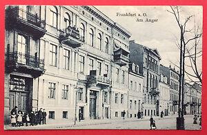 AK-FRANKFURT-ODER-1918-Am-Anger-mit-Kindern-13610