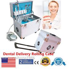 Portable Dental Turbine Delivery Treatment Unit Withcompresser Scaler Curing Light