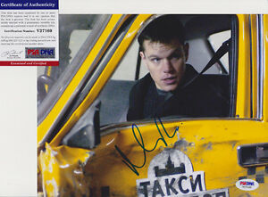 MATT-DAMON-THE-DEPARTED-BOURNE-SIGNED-AUTOGRAPH-8X10-PHOTO-PSA-DNA-COA-V27169