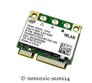 INTEL-5300-Mini-PCI-Express-533AN-HMW-Wifi-Card-Dell-Latitude-E6500