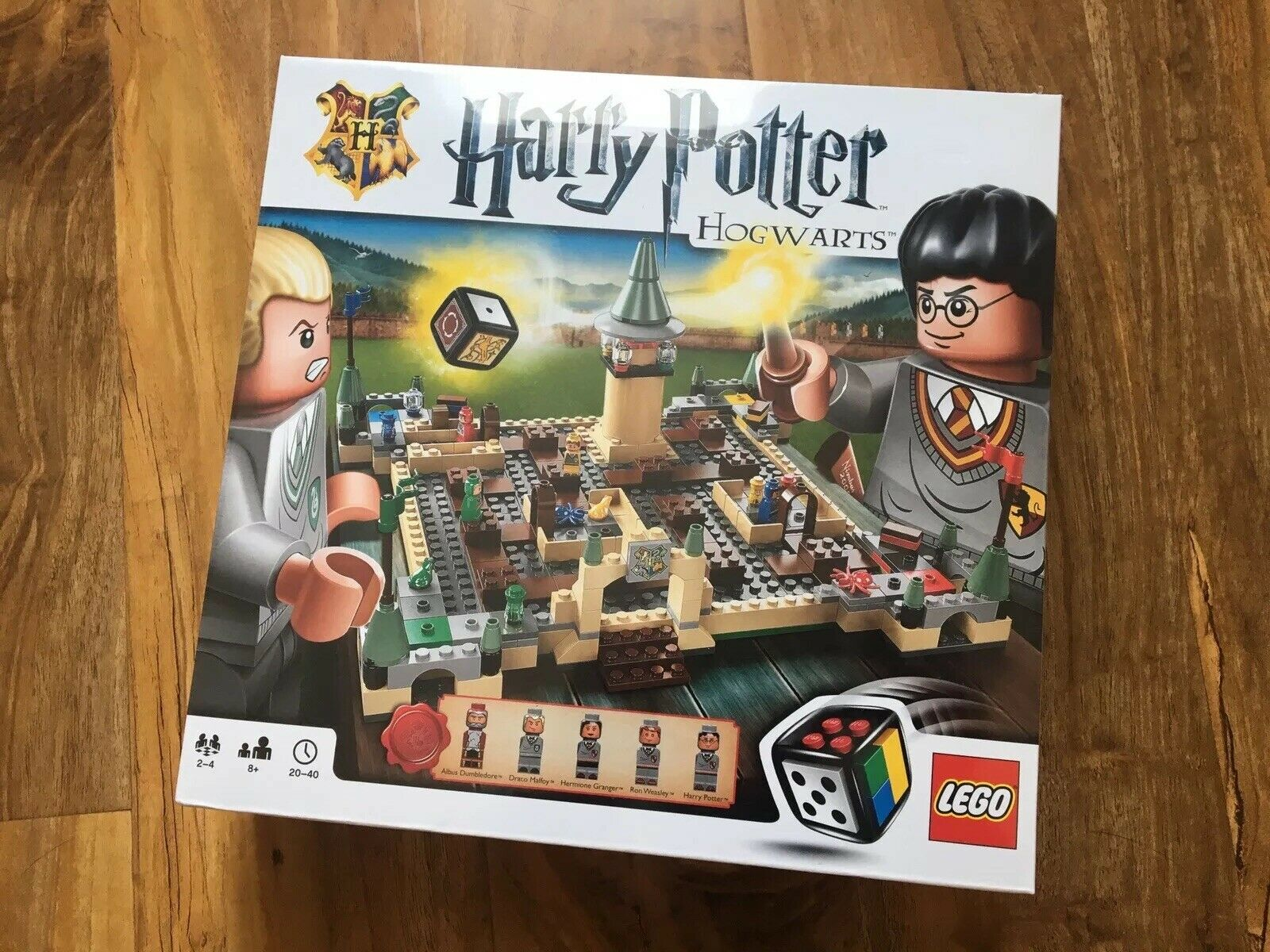 LEGO Harry Potter Hogwarts Board Game 3862 - - - New & Sealed 67ef9a
