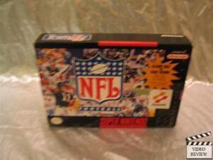NFL Football (Super Nintendo Entertainment System, 1993) No Inst.